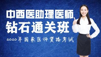【中西医结合助理】钻石通关班—2020国家医师资格考试【学乐优】