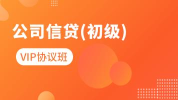 2021年【银行初级】公司信贷-vip协议班