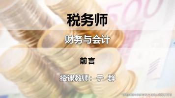 于群-税务师-财务与会计-精讲班