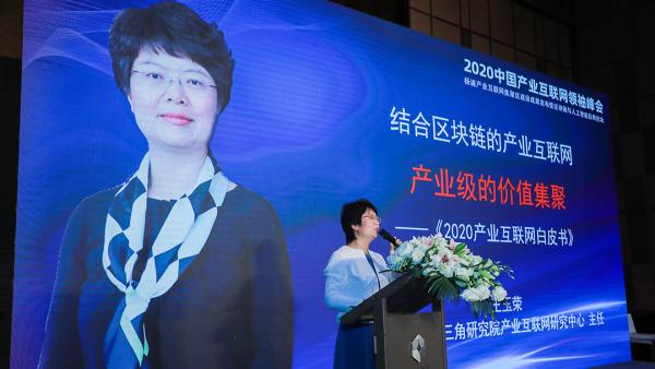 王玉荣解读《2020产业互联网白皮书》