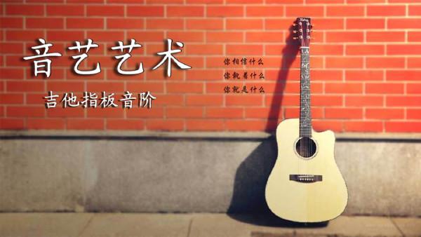 吉他指板音阶